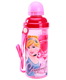 Disney Princess Sipper Bottle With Detachable Strap Pink 700 ml