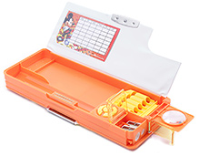 Mickey Mouse And Friends Multi Functional Pencil Box Peach