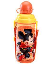 MIckey Mouse And Friends Orange Sipper Bottle With Detachable Strap 700 ml - 7 x 7 x 23 cm
