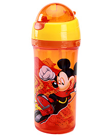 Mickey Mouse And Friends Orange Sipper Bottle 700 ml