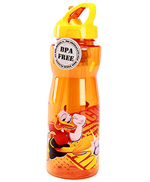 Mickey Mouse And Friends Sipper Bottle With Loop Cap Orange 1000 ml