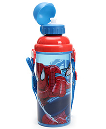 Spider Man Sipper Bottle Red And Blue - 550 ML