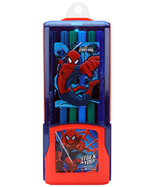 Spider Man Colour Pen - Set Of 12