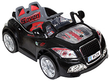 Fab N Funky Battery Operated Ride On with RC Black - B 28