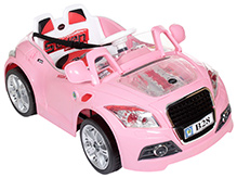 Fab N Funky Battery Operated Ride On with RC - Pink