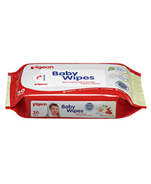 Pigeon Baby Wipes - 30 Pieces - Extra Soft