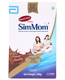 Abbott Mamas Best Premium Chocolate Flavor - 400 gm