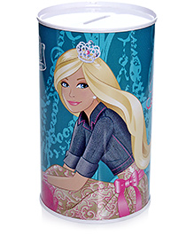 Barbie My castle Bigger Than Yours Coin Bank - Blue