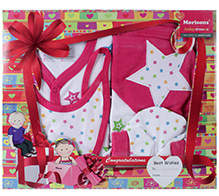 Morisons Baby Dreams Apparel Gift box - Pink