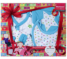 Morisons Baby Dreams Apparel Gift box - Sky Blue