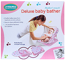 JoyMaker Deluxe Baby Bather - Pink