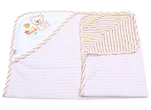 Montaly Hooded Baby Towel - Cream