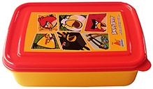 Angry Bird Yellow Lunch Box - Red and Yellow
