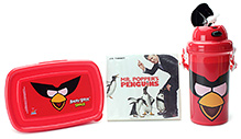 Angry Birds Red Lunch Box Kit With Free Movie CD