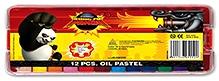 Kung Fu Panda Oil Pastels - Set Of 12