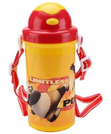 Kung Fu Panda Bottle With Swivel Lid Design 2 - 500 ml