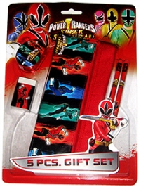Power Ranger Samurai Gift Set Design 1 - 5 Piece