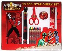 Power Rangers Super Samurai Stationery Set - 13 Pieces