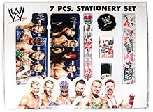 WWE 7 Pieces Stationery Set - Design 1