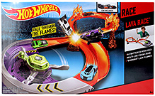 Hotwheels Lava Race Track Set