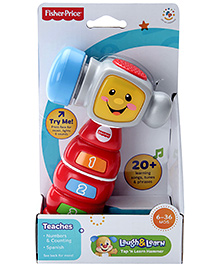 Fisher Price Laugh And Learn Tap 'N Learn Hammer