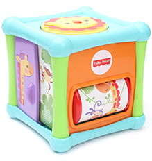Fisher Price Growing Baby Animal Activity Cube