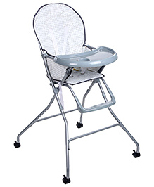 Baby High Chair - White
