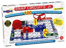 Snap Circuits SC-100 Jr Experiments Electric Circuit
