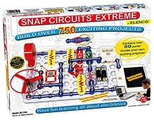 Snap Circuits Extreme SC-750 Experiments Electric Circuit