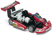 Kinsmart Turbo Go Cart Toy Car