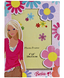 Barbie Flower Design Pink Photo Frame