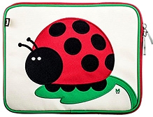 Beatrix IPad Case Juju Ladybug - 10.5 X 8.5 X 1 Inches