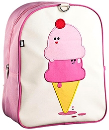 Beatrix Little Kid Backpack Dolce And Panna Ice Cream Cones - 12 Inches