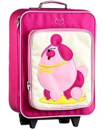 Beatrix Wheelie Bag Pocchari Poodle - 16 Inches