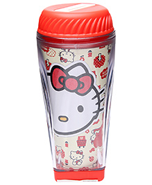 Hello Kitty Coin Box with Music - Red