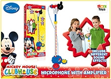 Mickey Mouse Clubhouse Microphone With Amplifier