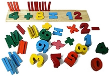 Aatike Wooden Mathematics Set