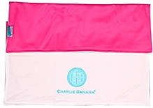 Charlie Banana Organic Cotton Change Pad  - Hot Pink