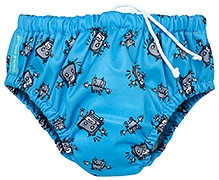 Charlie Banana 2-in-1 Swim Diaper N Training Pants Large - Robot Print