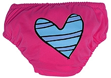 Charlie Banana 2-in-1 Swim Diaper and Training Pant Pink - Medium