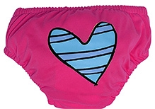 Charlie Banana 2 in 1 Swim Diaper and Training Pant Pink - Large