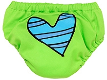 Charlie Banana 2-in-1 Swim Diaper and Training Pant Green - Large