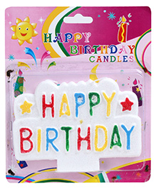 Birthday Candle - Multicolor