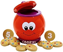 Learning Journey Count and Learn Cookie Jar - Red