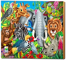 Learning Journey Animal of the World Puzzle - 48 Pieces - 3 Years Plus