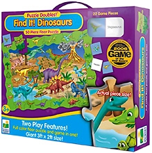 Learning Journey Puzzle Doubles Find It Dinosaurs