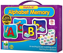 Learning Journey Match It Memory Alphabet