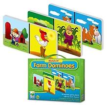 Learning Journey Match It Dominoes Farm
