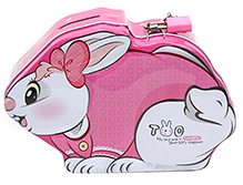 Money Bank Rabbit Shape Pink