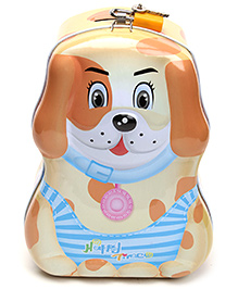 Coin Bank Brown - Puppy Shape
